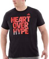 adidas Heart Over Hype Tee-Big & Tall