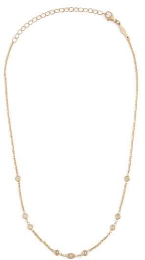 Jacquie Aiche Diamond & Gold Necklace - Womens - Gold