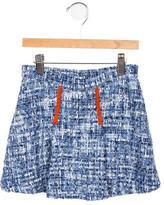 Oscar de la Renta Girls' Tweed A-Line Skirt