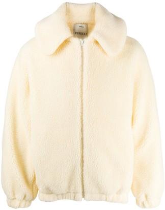 Fiorucci Shearling Hooded Coat