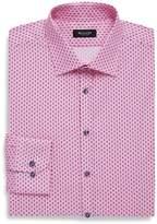 Sand Men's Classic Fit Printed Cotton Dress Shirt