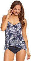 Penbrooke Petaled High Low Tankini Top 8150414