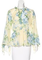 Alice McCall Collared Bell Sleeve Top w/ Tags