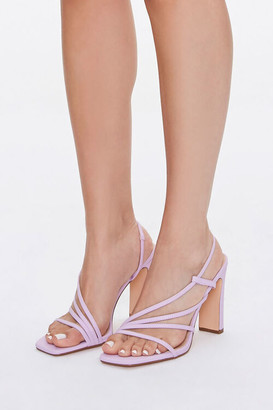 Forever 21 Strappy Block Heels