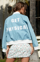 Nightwalker Get Physical Bomber Jacket