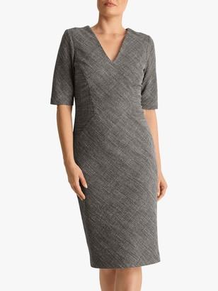 Fenn Wright Manson Megane Dress, Black/Ivory Check