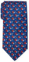 Battistoni Silk Ladybugs Dot Tie