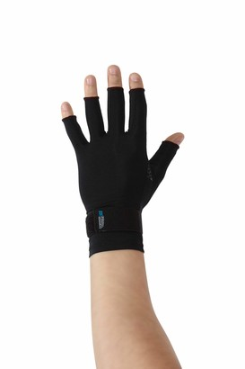 Copper Fit unisex adult Ice Compression Gloves Infused with Menthol and Coq10 for Recovery