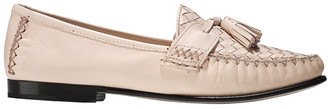 Cole Haan Womens Jagger Soft Weave Loafer Peach Blush Leather 5 B - Medium
