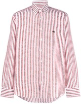 Etro striped print shirt