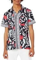 Topman Men's Print Shirt