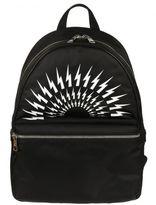 Neil Barrett Black/white Kefiah Backpack