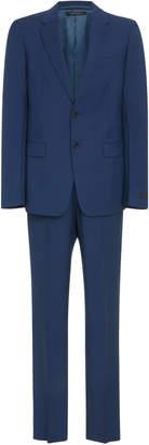 Prada Notched Lapel Wool-Blend Suit Size: 52