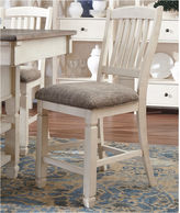 Signature Design by Ashley Counter Height Upholstered Bar Stool