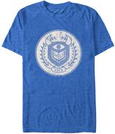 Fifth Sun Monsters University Royal Heather Emblem Tee - Men & Big