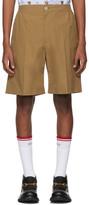 Gucci Tan Poplin Shorts