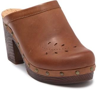 KORKS Brandi Leather Clog