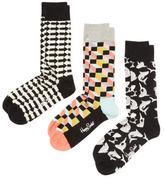 Happy Socks Sharks & Arrow Socks (3 PK)