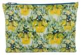 Mary Katrantzou Yellow Bird Pouch