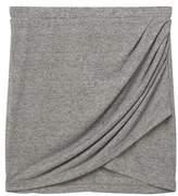 Mango Outlet Draped wrap skirt