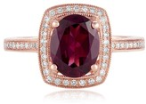Effy Jewelry Effy Bordeaux 14K Rose Gold Rhodolite Garnet and Diamond Ring, 2.48 TCW