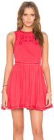Free People Delightful Birds of Feather Dress