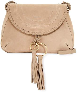 See by Chloe Polly Medium Leather Crossbody Saddle Bag