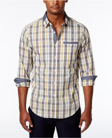 Sean John Men's Check-Print Shirt, Only at Macy's