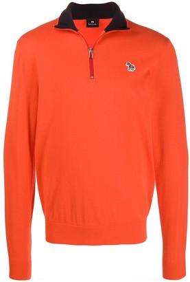 Paul Smith Zip Neck Sweatshirt