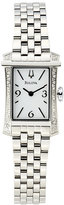 Bulova 96R186 Silver-Tone & White Watch