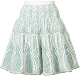 Sophie Theallet embroidered flared skirt - women - Silk/Polyamide/Polyester - M
