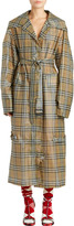 Burberry Ss18 Heritage Check Raincoat