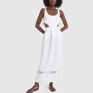 Ellery Voyage Scoop Neck Peplum Dress