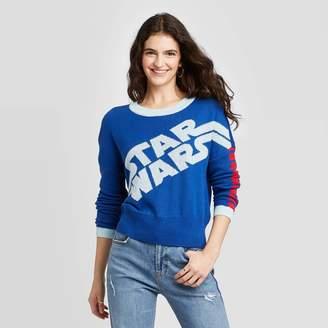 Star Wars Women's Crewneck Graphic Sweater - (Juniors') -