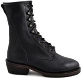 Gee WaWa Dark Brown Aira Leather Boot
