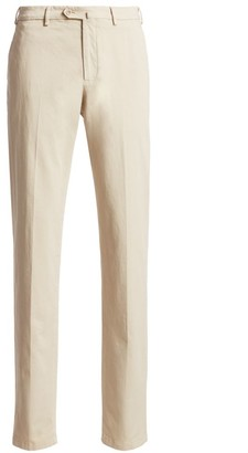 Loro Piana Four-Pocket Khaki Pants