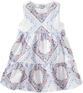 Osh Kosh Bandana Print Dress (Baby) - Floral - 12 Months