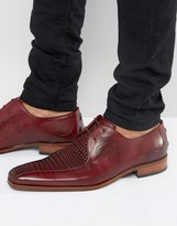Jeffery West Scarface Center Weave Derby Shoes