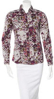 Etro Printed Button-Up Top