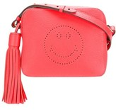 Anya Hindmarch Women's Red Leather Shoulder Bag.