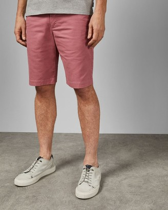 Ted Baker Tall Cotton Chino Shorts
