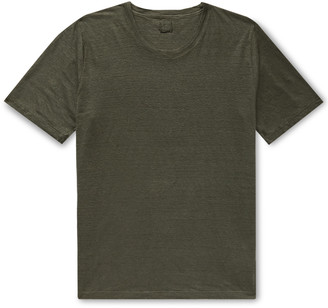 120% Slub Linen T-Shirt
