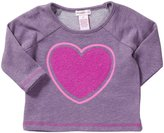 Design History French Terry Top (Toddler/Kid) - Playful Purple-6x