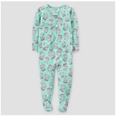 Just One You made by carter Toddler Girls' Footed Pajama Sleeper Turquoise Hippos - Just One You Made by Carter's®