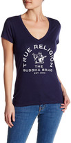 True Religion Arch Buddha V-Neck Tee