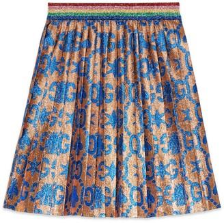 Gucci Children's duck jacquard skirt