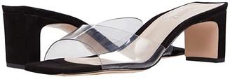Schutz Onoria (Transparent(Black) Vinil) Women's Shoes