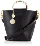 Faith Fait Metal Handle Bucket Bag