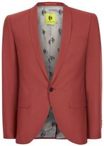 Topman NOOSE & MONKEY Rust Slim Fit Blazer