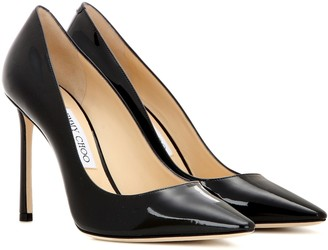Jimmy Choo Romy 100 patent leather pumps